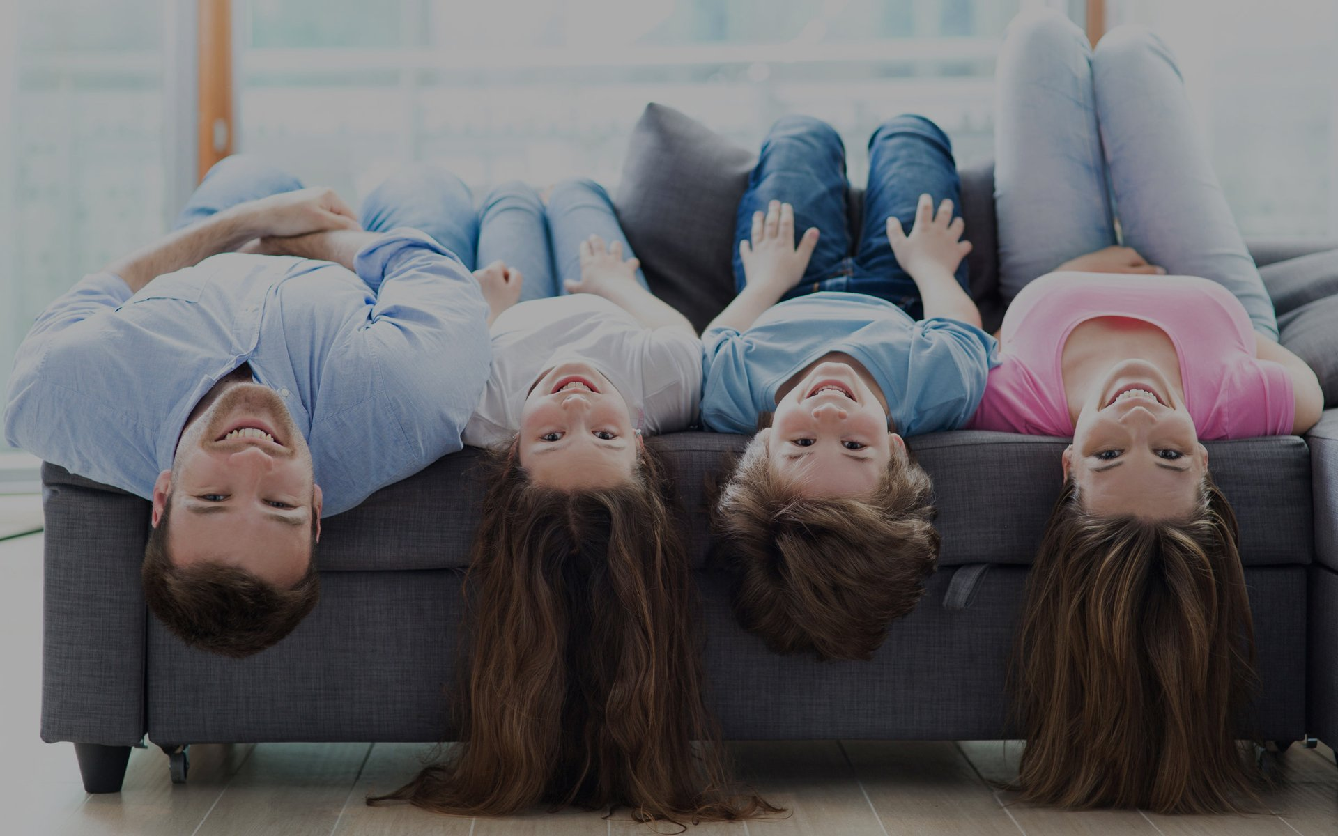 famiglia divano comodo brescia