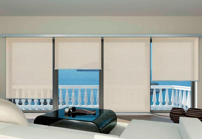 Tende a rullo parete/soffitto - Tendaggi - Biasini Salotti